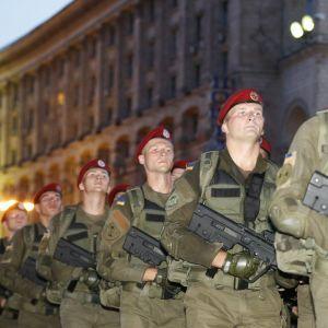 Центр Киева снова перекроют из-за репетиции парада ко Дню Независимости