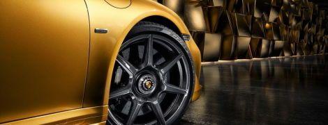 Porsche представила полностью карбоновые колесные диски