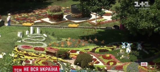 """Відвідувачі """"квіткової карти"""" України не розгледіли на ній Криму і Донбасу"""