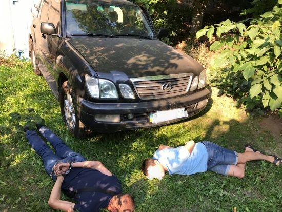 Поліція знайшла Lexus Фацевича й затримала трьох організаторів викрадення