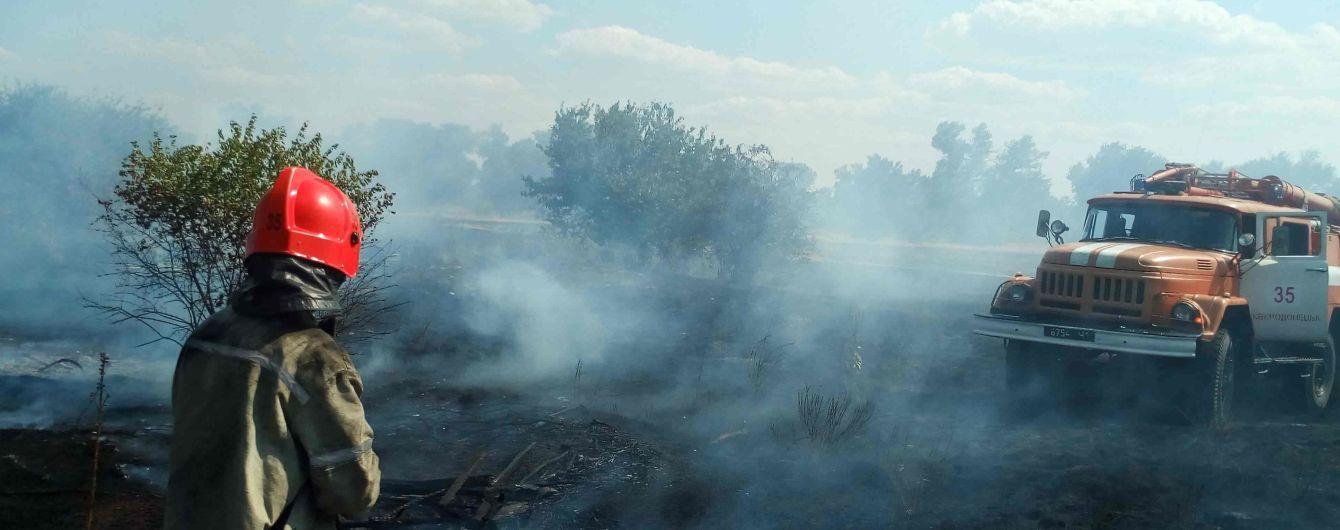 В Киеве в ближайшие дни - чрезвычайный уровень пожарной опасности
