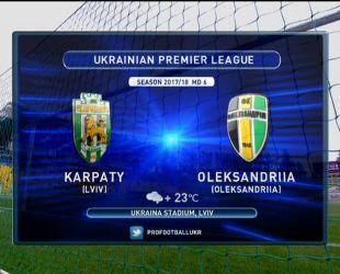 Карпаты - Александрия - 0:0. Видео матча