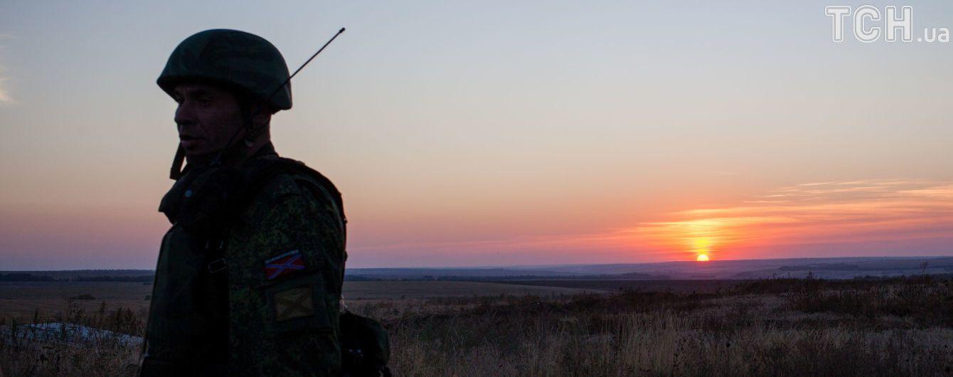 """У зоні АТО затримали бойовика, який розчарувався в """"ДНР"""""""