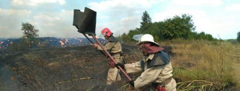 Из-за невероятной многонедельной жары в Украине массово начали гореть леса и поля