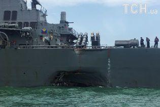 В США не исключают кибератаку среди причин столкновения американского эсминца с танкером
