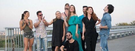 "Канал ""1+1"" представил танцоров проекта ""Танцы со звездами"""