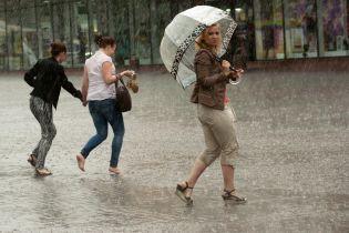 Новий тиждень розпочнеться з грозових дощів, місцями - сильних