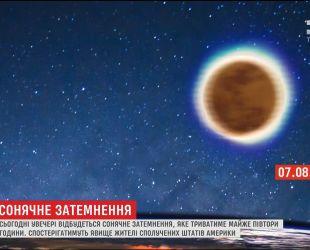 Історичне явище: світ очікує одне з найдовших в історії сонячних затемнень