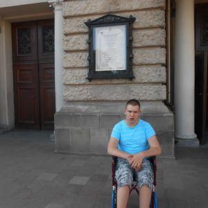 Игорь просит поддержать его в лечении ДЦП