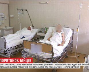 Двух раненых за выходные доставили в областную больницу Днепра