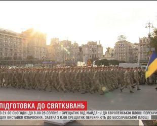 В столице усиливают охрану и перекрывают центр к празднованию Дня Независимости