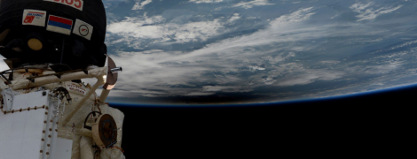 Земля в иллюминаторе: космонавты показали затмение Солнца с борта МКС