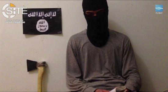"""Бойовики """"ІД"""" опублікували """"посмертне"""" відео чоловіка, який влаштував різанину у Сургуті"""