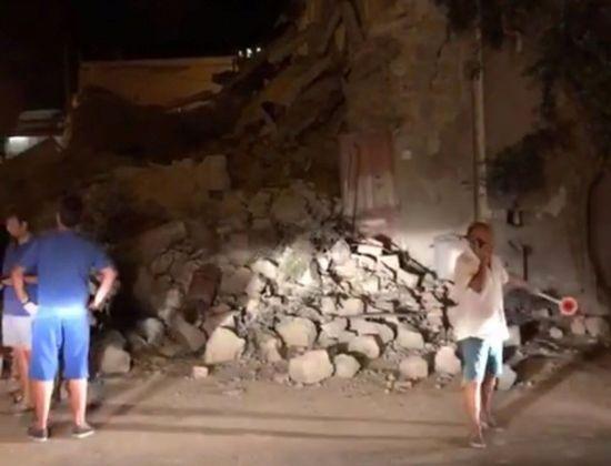 В Італії внаслідок сильного землетрусу загинула людина, десятки поранених