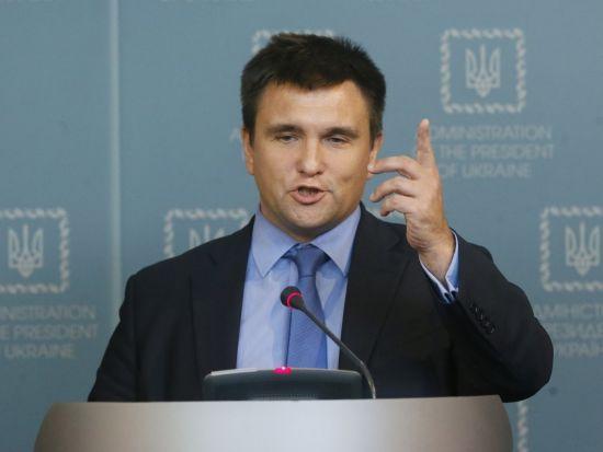 Климкин рассказал, о чем говорил с Лавровым за закрытыми дверями