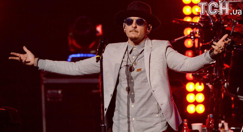 У Києві створили мурал із покійним вокалістом Linkin Park Честером Беннінгтоном