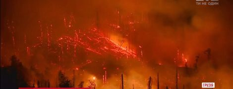 Боржомі у вогні: Грузія просить допомоги в порятунку легендарного курорту