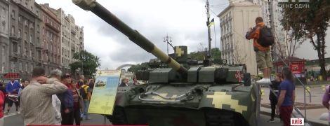 """""""Гіацинт"""", """"Оплот"""" та інші: військова техніка на Хрещатику спричинила фурор у столиці"""