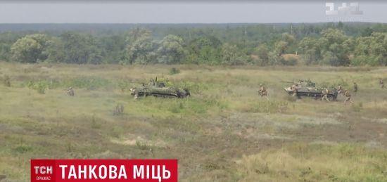 """Танкові роти українських десантників зіграли в особливий """"біатлон"""" за правилами НАТО"""