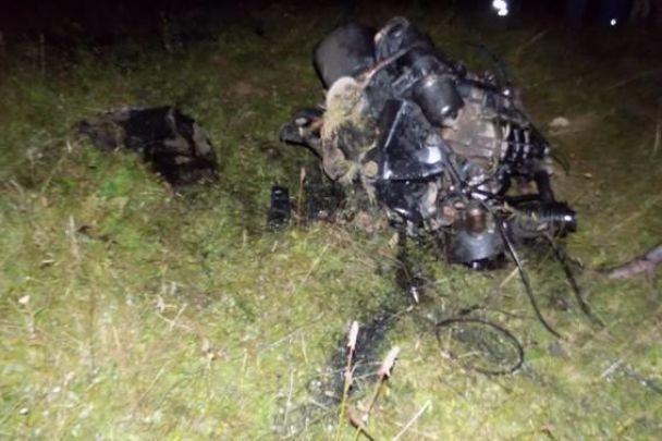 Лесовоз вЗакарпатской области упал впропасть: два человека погибли