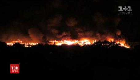 У Харкові удар блискавки спричинив пожежу у суді