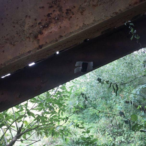 СБУ нашла взрывчатку под пешеходным мостом вИвано-Франковске