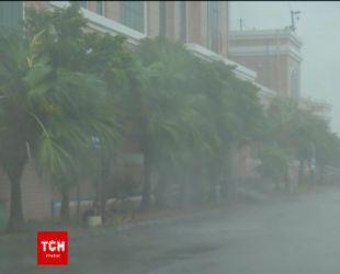 Потужний тайфун налетів на Китай