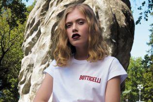 Стильные футболки с именами художников в капсульной коллекции бренда NASTASIA KLIMT