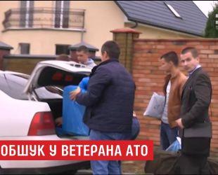 Под Луцком обыскали дом АТОшника, которого обвиняют в разглашении конфиденциальной информации