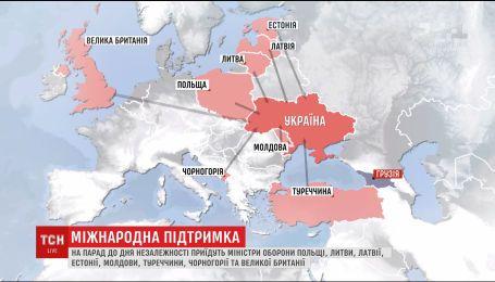 Праздновать День независимости в Украину прибыл глава Пентагона Джеймс Мэттис