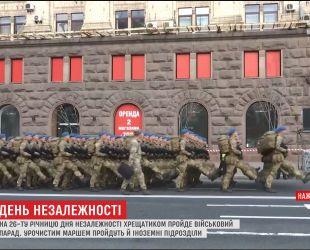 Более четырех тысяч украинских военных пройдут по центру столицы