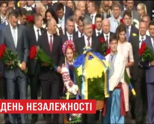 В Софийском соборе Президент вместе с семьей принял участие в торжественном молебне