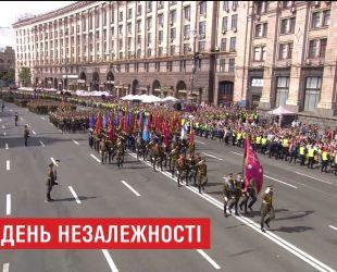 Военный парад ко Дню Независимости Украины