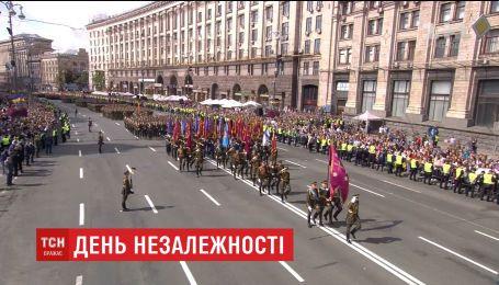 Военный парад ко Дню Независимости Украины (полная версия)