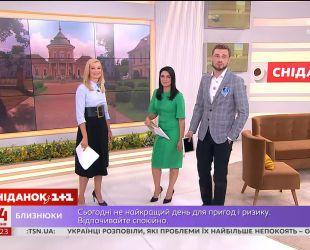 """До """"Сніданку"""" завітала ведуча """"ТСН"""" Лідія Таран"""
