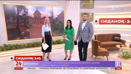 """В студии """"Сніданка"""" - ведущая """"ТСН"""" Лидия Таран"""