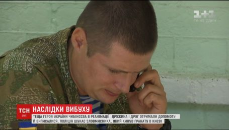 Ексклюзивно для ТСН Валерій Чибінєєв розповів про наслідки вибуху в урядовому кварталі