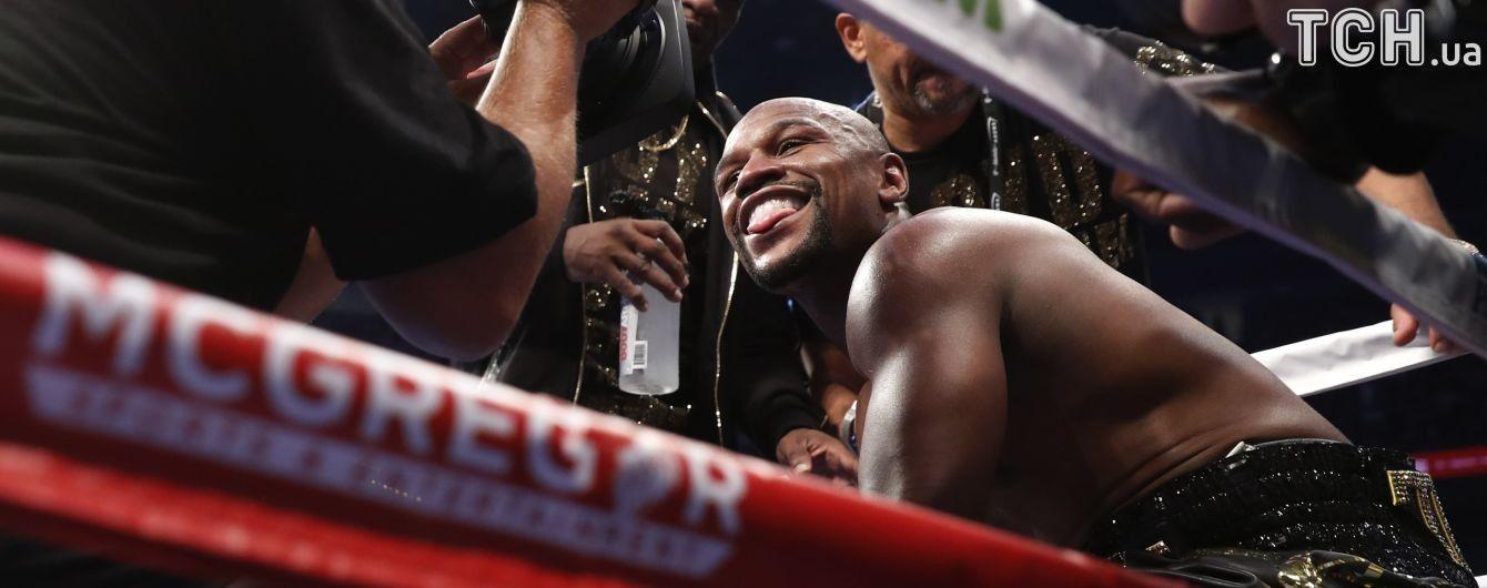 Мейвезер надумав стати бійцем MMA