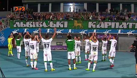 Олімпік - Карпати - 0:0. Відео матчу