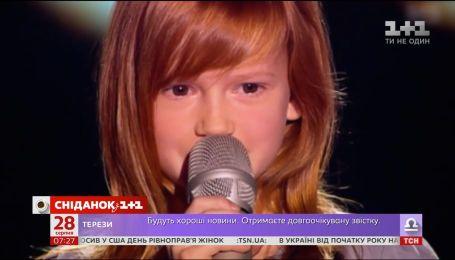 """Фіналістка """"Голосу. Діти 2"""" Анастасія Багінська представлятиме Україну на дитячому """"Євробаченні"""""""