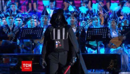Дарт Вейдер выступил вместе с оркестром национальной консерватории Казахстана