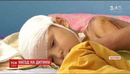 У Запоріжжі неповнолітній водій збив 3-річного хлопчика і намагався втекти