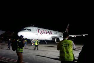 Qatar Airways совершила первый рейс в Киев
