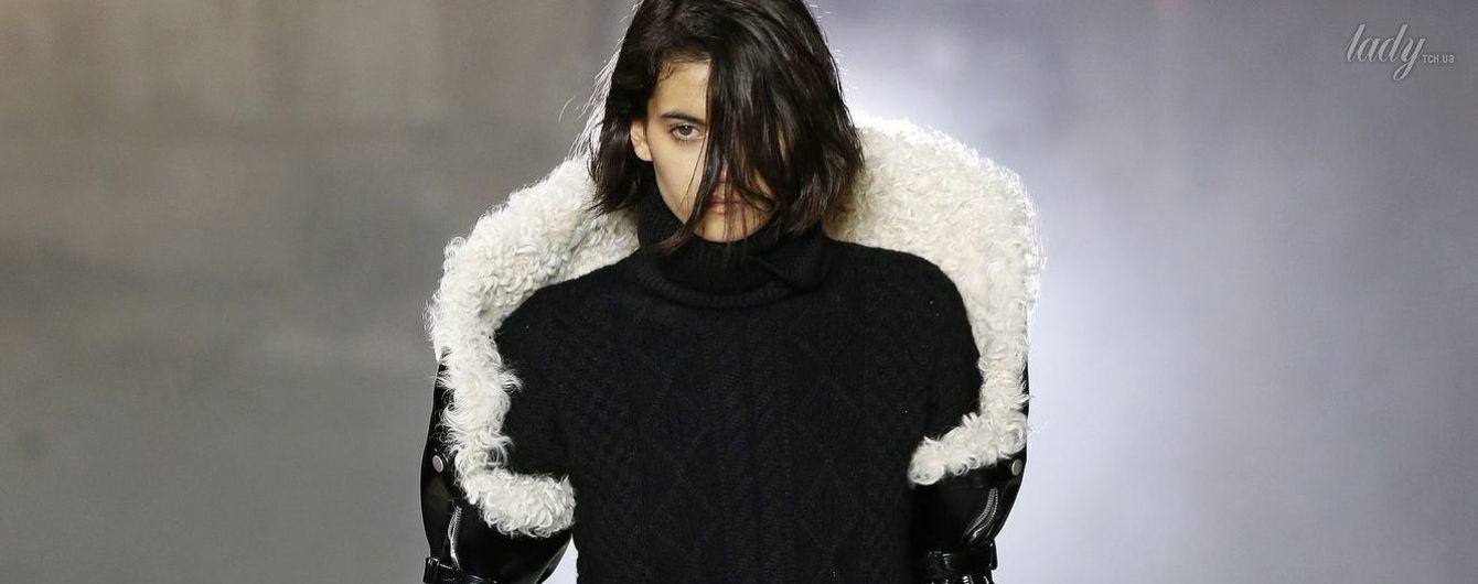 Тенденции моды осень-зима 2017-2018: возвращение черной кожи