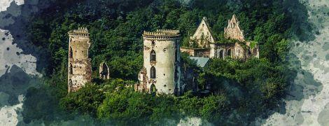 Чудеса України, про які ви не знали. Загадковий Червоногородський замок на Тернопільщині
