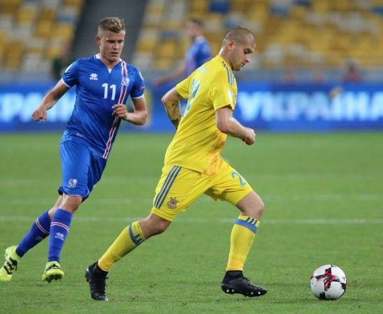 Збірна України втратила основного футболіста