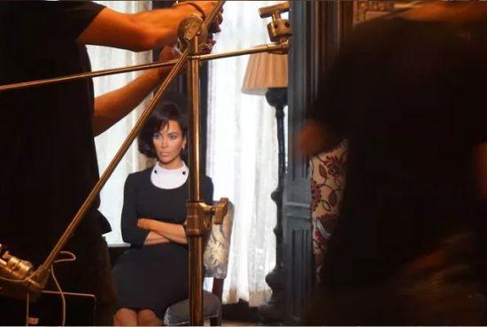 Кім Кардашян показала залаштунки знімань її нашумілої фотосесії в образі Жаклін Кеннеді