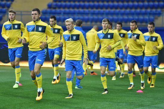 Збірна України провела відкрите тренування перед матчем проти Туреччини
