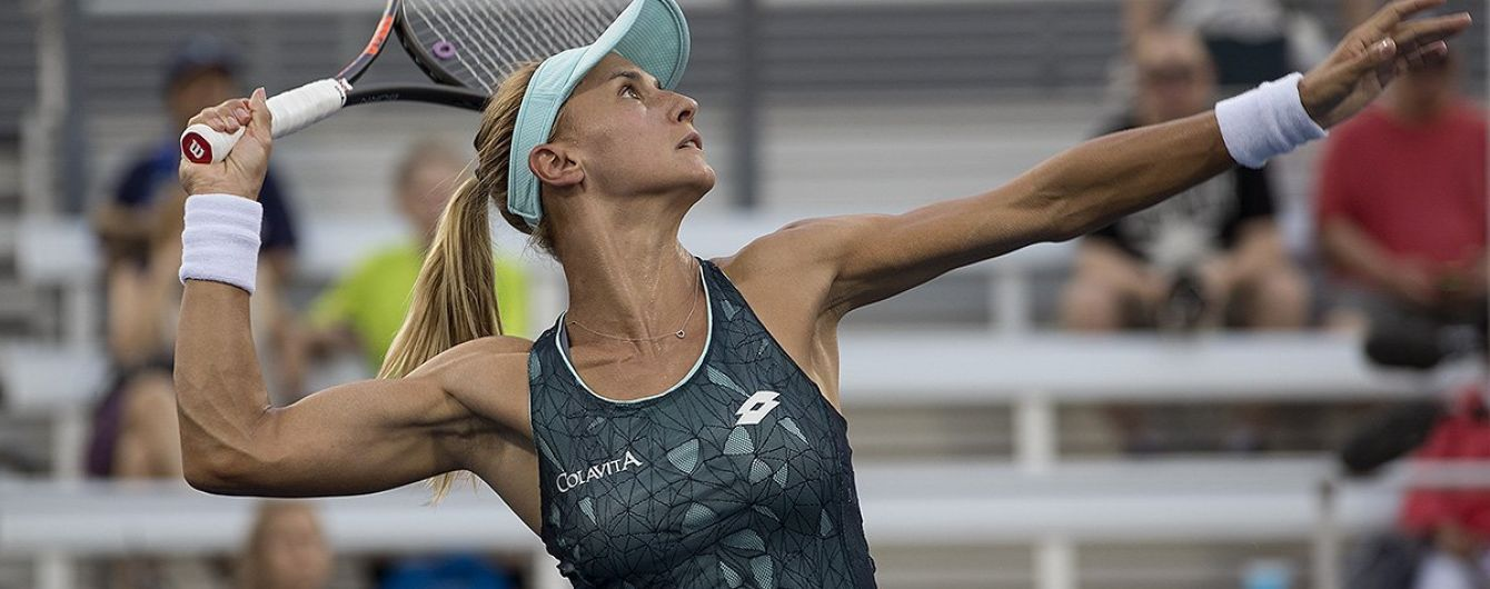 Одна з найкращих тенісисток України зробила на підборах незвичне завдання з ракеткою
