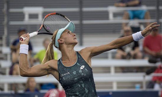 Українка Цуренко вилетіла на старті US Open
